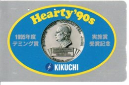 Médaille  Pièce Télécarte  Japon Phonecard  Telefonkarten (G 247) - Francobolli & Monete
