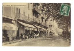 CPA 07 LE TEIL RUE DE LA REPUBLIQUE - Le Teil