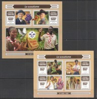 TG149 2015 TOGO TOGOLAISE SCOUTS LE SCOUTISME KB+BL MNH - Other