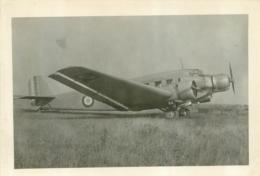 AVION JUNKERS 52 PHOTO ORIGINALE FORMAT  13 X 9 CM - Aviazione