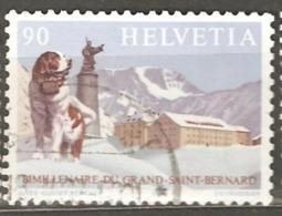 Switzerland: 1 Used Stamp From A Set, 2000 Years Of San Bernard, 1989, Mi#1389(2). - Switzerland