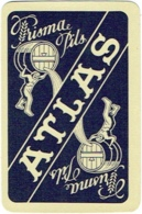 1 Playing Card.  1 Carte à Jouer. 1 Speelkaart. Brasserie Atlas. Bière Prisma Pils. - Barajas De Naipe