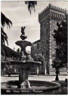 RHO - PIAZZA VISCONTI E MUNICIPIO - MILANO - ANNI '50 - Rho