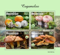 Mozambique. 2019 Mushrooms. (0512a)  OFFICIAL ISSUE - Funghi