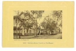 CPA 06 NICE DISTILLERIE BLANQUI FRACCHIA AU PONT-MAGNAN - Cafés, Hotels, Restaurants