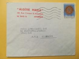 1970 BUSTA INTESTATA ALGERIA ALGERIE BOLLO ARTIGIANATO OBLITERE ANNULLO  STORIA POSTALE - Algeria (1962-...)