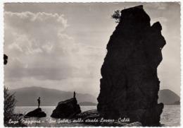 "LAGO MAGGIORE - ""SAS GALET"" SULLA STRADA LAVENO - CALDE' - LUINO - VARESE - 1956 - Luino"