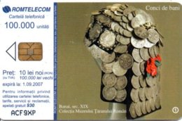 Pièce Monnaie Money Médaille Télécarte Roumanie Bank Banque Phonecard  Telefonkarten (G 252) - Francobolli & Monete