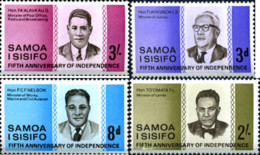 Ref. 168257 * NEW *  - SAMOA . 1967. 5th INDEPENDENCE  ANNIVERSARY. 5 ANIVERSARIO DE LA INDEPENDENCIA - Samoa