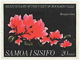 Ref. 267559 * NEW *  - SAMOA . 1968. BICENTENARY OF THE VISIT OF BOUGAINVILLE. BICENTENARIO DE LA VISITA DE BOUGAINVILLE - Samoa