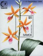 Ref. 93158 * NEW *  - SAMOA . 1995. SINGAPORE 95. INTERNATIONAL PHILATELIC EXHIBITION. SINGAPORE 95. EXPOSICION FILATELI - Samoa