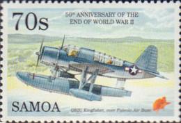 Ref. 599712 * NEW *  - SAMOA . 1995. 50th ANNIVERSARY OF THE SECOND WORLD WAR. 50 ANIVERSARIO DE LA SEGUNDA GUERRA MUNDI - Samoa