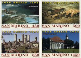 Ref. 30882 * NEW *  - SAN MARINO . 1996. 50th ANNIVERSARY OF UNESCO. 50 ANIVERSARIO DE LA UNESCO - Nuovi