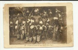 AFRIQUE . NIGER . GROUPE DE DANSEUR BOGO. CERCLE MOYEN NIGER - Niger
