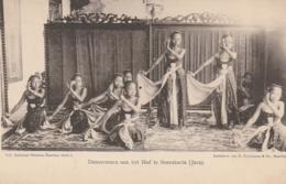 *** INDONESIA ***  Danseressen Aan Het Hof Te Sorakarta (Java) -  Unused TTB - Indonésie
