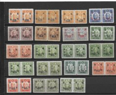 CHINA LOT STAMPS OF THE YEAR 1945-46 MARTYRS ISSUES OVERPRINTED MINT MNH - China