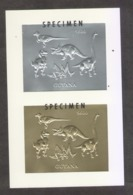 Dinosaurs Prehistorics GUYANA - Preistorici