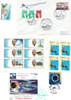 CONCORDE Lot Enveloppes Et Timbres - Concorde