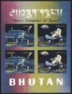 Bhutan 1971. Man 's Conquest, Space. Lunokhod. Jeep.   MNH - Espacio