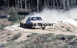 Négatif Photo Amateur Pour Diapositive De Voiture De Course - Championnat Du Monde Des Rallyes WRC - Ford - Diapositive