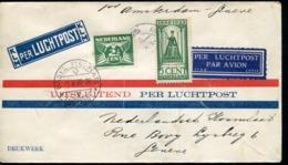 PAYS BAS - N° 119 + 169 / VOL AMSTERDAM GENEVE LE 1/5/1930 - TB - Poststempels/ Marcofilie