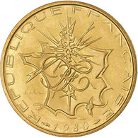 Monnaie, France, Mathieu, 10 Francs, 1980, Paris, FDC, Nickel-brass - France