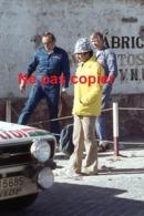 Négatif Photo Amateur Pour Diapositive De Voiture De Course - Championnat Du Monde Des Rallyes WRC - Pilote - Diapositive