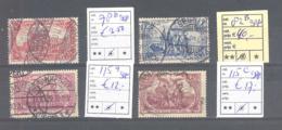 Reich  Michel # 78 B : 115 C  Gepruft - Oblitérés