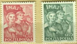 1952 Poland V Work Day MNH** - Ongebruikt