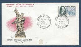 France - FDC - Premier Jour - Pierre Puget - Marseille - 1961 - FDC