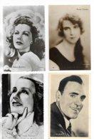 Lot De 16 Cartes Postales Différentes D' Artistes. Voir La Liste Ci-dessous. - Cartes Postales