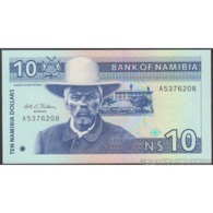 TWN - NAMIBIA 1a - 10 Dollars 1993 Prefix A - Signature: Karlsson UNC - Namibia