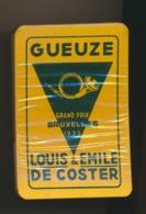 BELGIUM BEER GEUZE DE COSTER  En 1935 Grand Prix Bruxelles GUEZE - GUEUSE - 32 Karten