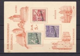 Lokalausgaben - Eilenburg - 1946 - Michel Nr. I/III Spendenkarte - Soviet Zone