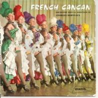 Vinyles. 45 T. French Cancan. Orchestre Georges Derveaux. La Vie Parisienne (4 Titres) Studio Match Record - Musicals