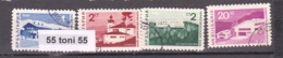 1966 TOURISM Mi 1671/74 4v.-used (O) Bulgaria / Bulgarie - Vacaciones & Turismo