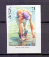 2989 EUROPA ONGETAND POSTFRIS** 2001 - Belgium