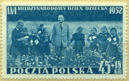 1952 Poland International Children's Day MNH** - Ungebraucht