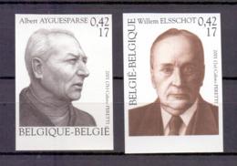 2990/2991 LITERATUUR  ONGETAND POSTFRIS** 2001 - Belgique