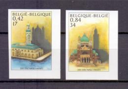 3002/3003 BASILIEK EN MOSKEE ONGETAND POSTFRIS** 2001 - Belgium
