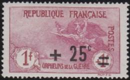France    .    Yvert     .     168      .    *     .       Neuf Avec Charniere   .   /   .   Mint-hinged - Ongebruikt