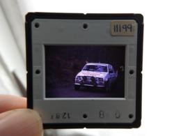 Diapositive De Voiture De Course - Championnat Du Monde Des Rallyes WRC - Citroën Visa - Diapositive