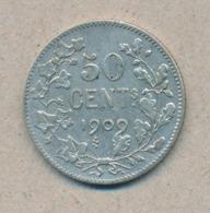 België/Belgique 50 Ct Leopold II 1909 Fr Morin 204 (137871) - 1865-1909: Leopoldo II