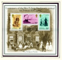 TRISTAN DA CUNHA  - 1981 Edwin Dodgson Miniature Sheet Unmounted/Never Hinged Mint - Tristan Da Cunha