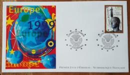 FDC 1999 - YT Service N°120 - CONSEIL DE L'EUROPE - STRASBOURG - FDC