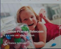 Petit Calendrier De Poche 2002 France Telecom Fillette ...Caen - Calendriers