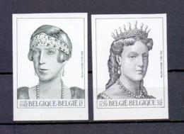 2968/2969 KONINGIN ELISABETH EN MARIA HENDRIKA ONGETAND POSTFRIS** 2001 - Belgium