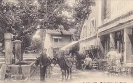Monnetier - La Place - Belle Animation - 1911    (191027) - Francia