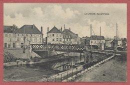 """Le Chesne Ardennes """" Kanalbrücke """"  Feldpost Guerre De 14-18 / Cachet Feldpoststation Nr 54 - Le Chesne"""