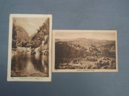 2 Cpa Lebanon Ainzehalta Valey & Fleuve Du Chien Leban. Franchise Militaire 1925 - Lebanon